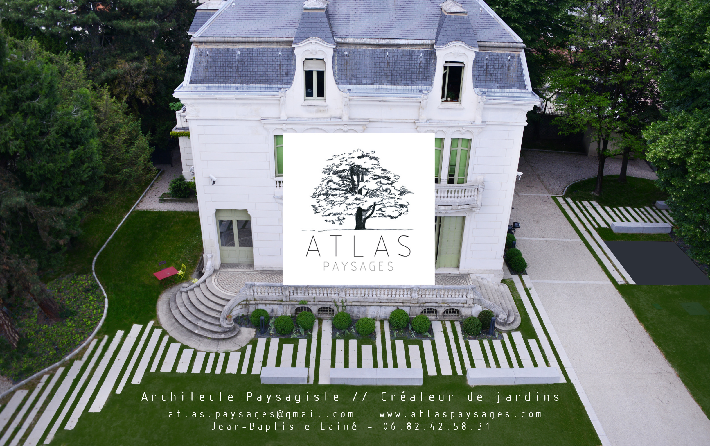 Atlas paysages architecte paysagiste cr ateur de jardins for Architectes paysagistes