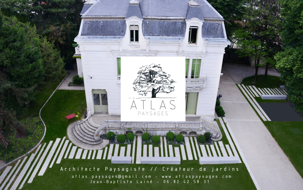 Architecte paysagiste - Lyon - Atlas Paysages - Jardins