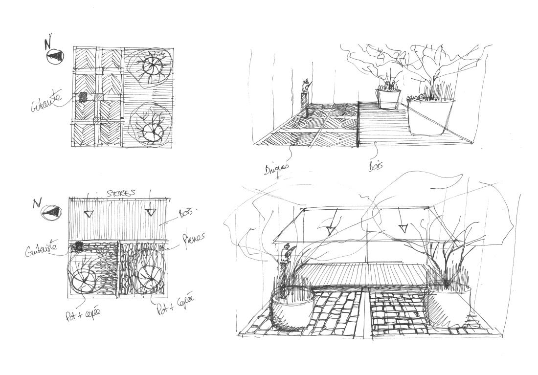 croquis-patio-architecte-paysagiste-lyon-69-annecy-geneve-createur-de-jardin-atlas-paysages